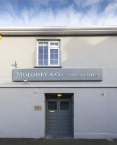 Moloney & Co Solicitors Front of Office in Naas
