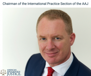 American Association for Justice Elects Travel Law expert Liam Moloney to Leadership Position