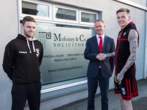 Gary Cully Naas Boxer with personal injury legal expert Liam Moloney